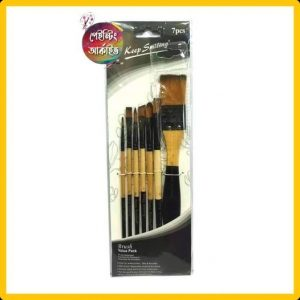 Artist quality Mixed brush set 7 pcs
