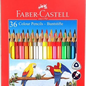 Faber-Castell-36-Triangular-Colour-Pencils