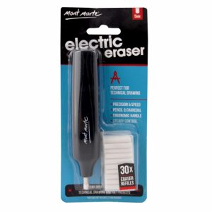 Mont Marte Electric Eraser Set of 30 (Eraser Refills)