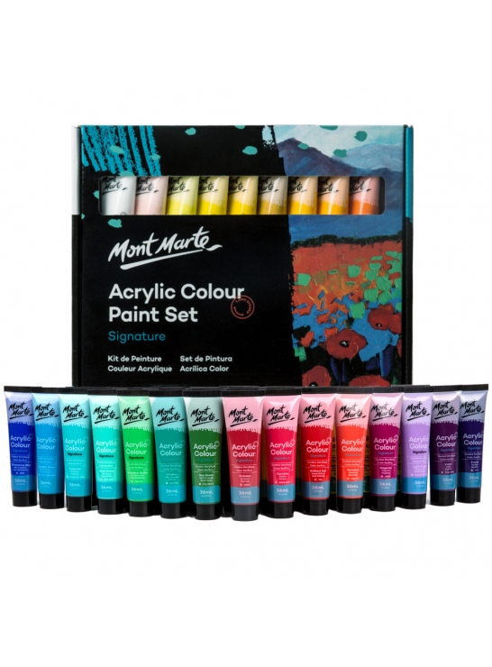 Signature Acrylic Paint Set 36pc x 36ml (1.2oz)