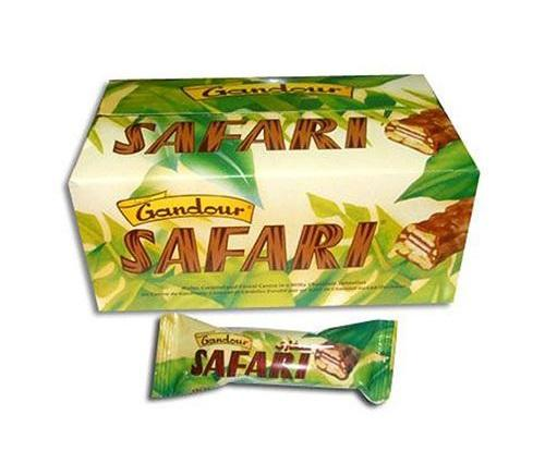Safari Chocolate- Indian - 12grm X 24pcs 336Grm