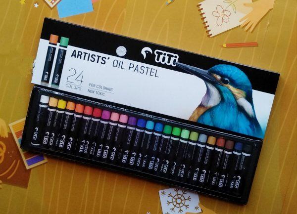 Titi artists oil pastel!