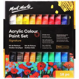 Signature Acrylic Paint Set 18pce x 36ml